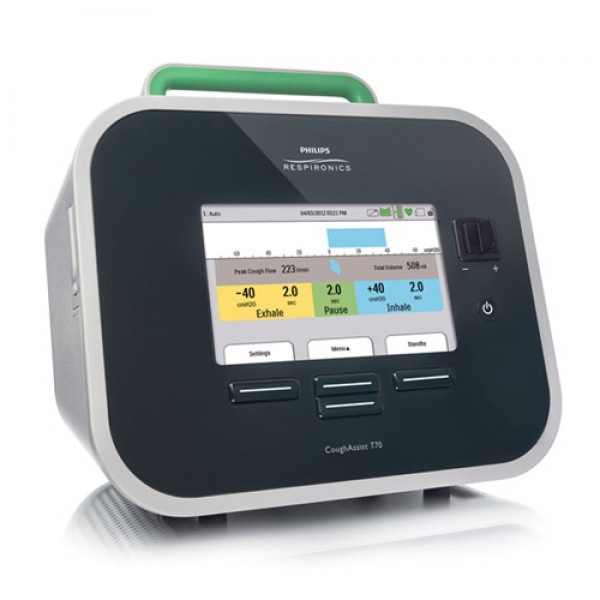 hoestmachine e70 cough assist sputum philips